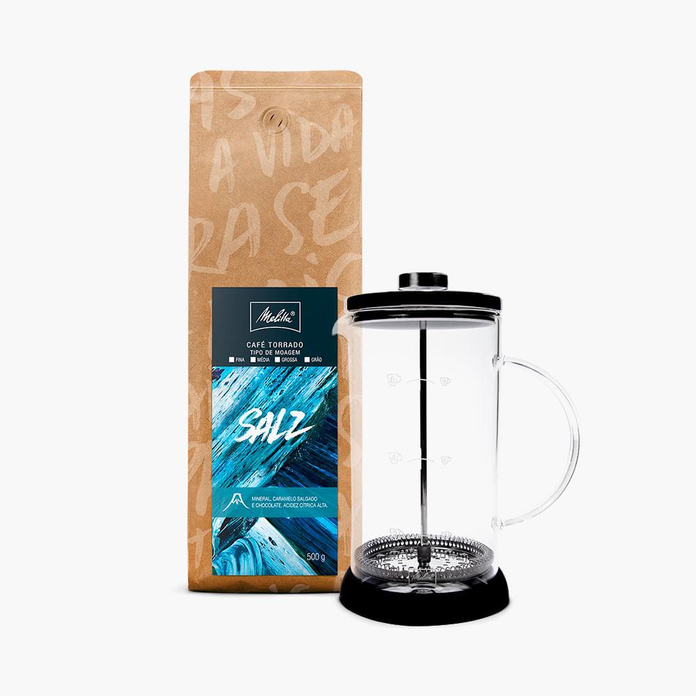 Kit-Prensa-Francesa-Grande---Cafe-Salz-500g---Moagem-Grossa