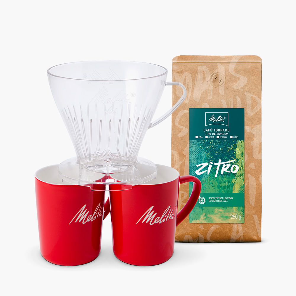 Kit-Compartilhando-Momentos---Cafe-Zitro-Melitta-250g---Moagem-Media