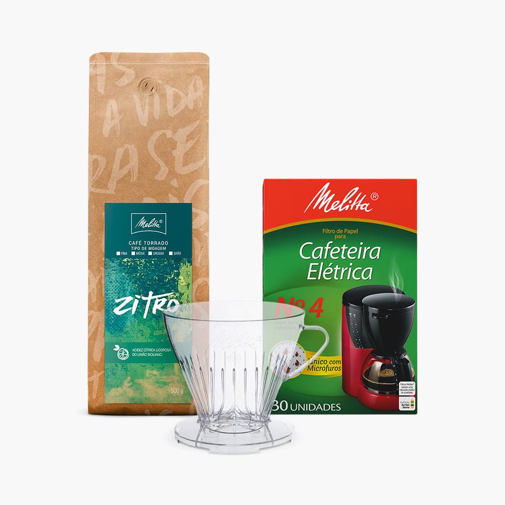 Kit-Filtrado-com-Cafe-Zitro-500g---Moagem-Media