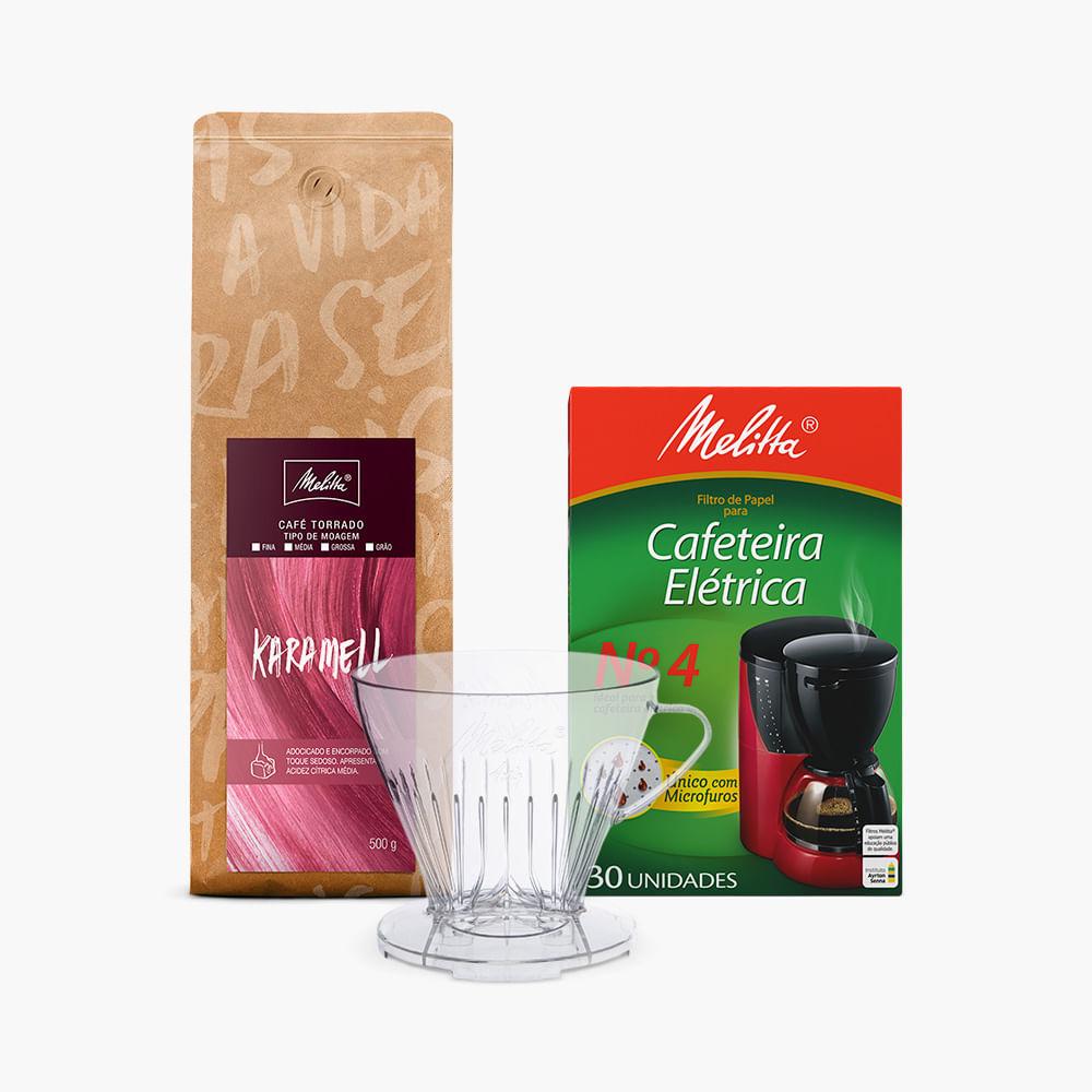 Kit-Filtrado-com-Cafe-Karamell-500g---Moagem-Media