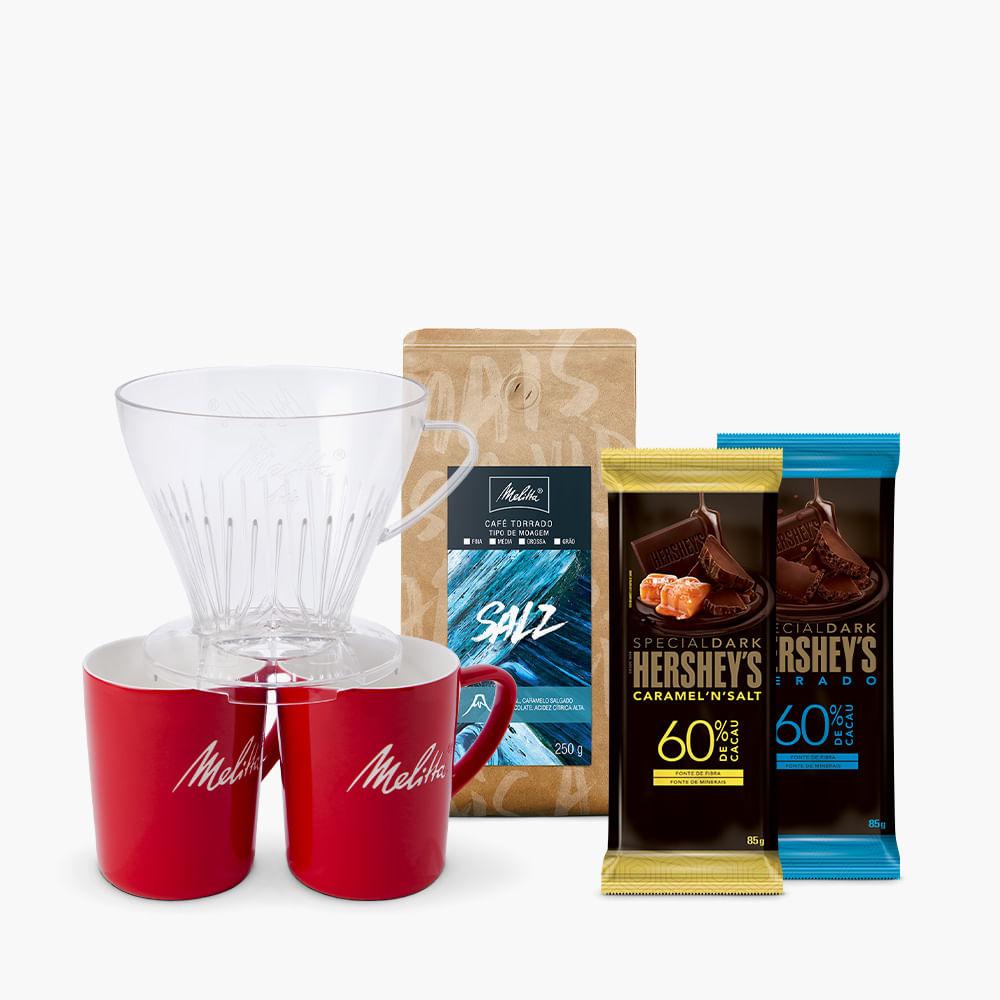 Kit-Preparo-Duplo-Melitta-Salz-Moagem-Media-250g---2-barras-Hershey-s-Special-Dark-85g