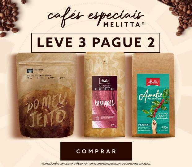 Cafés Leve 3 e pague 2